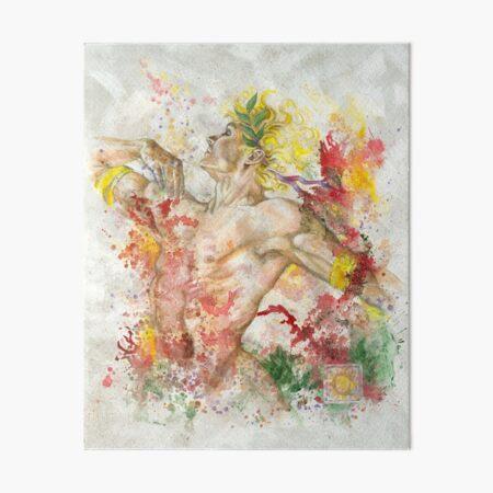 Dancing Apollo Art Board Print