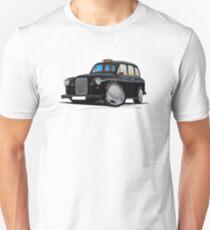 London Fairway Taxi Black Unisex T-Shirt