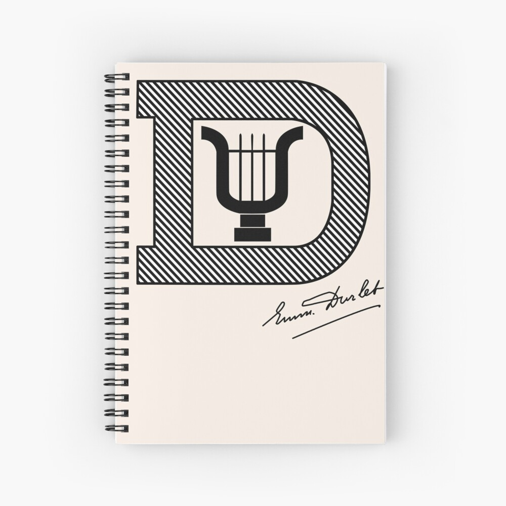 Emmanuel Durlet Spiral Notebook