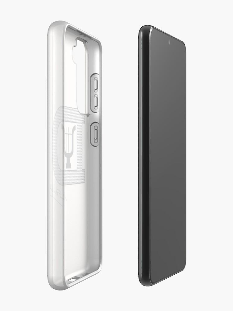 Alternate view of Emmanuel Durlet Case & Skin for Samsung Galaxy