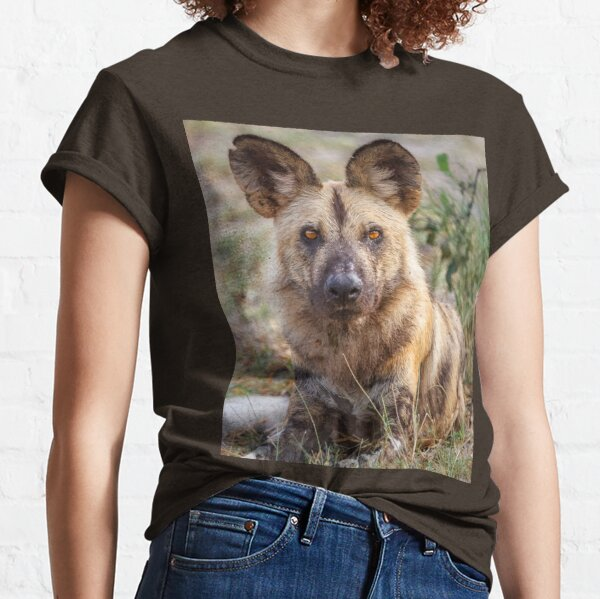 Wild Face of a Dog Classic T-Shirt