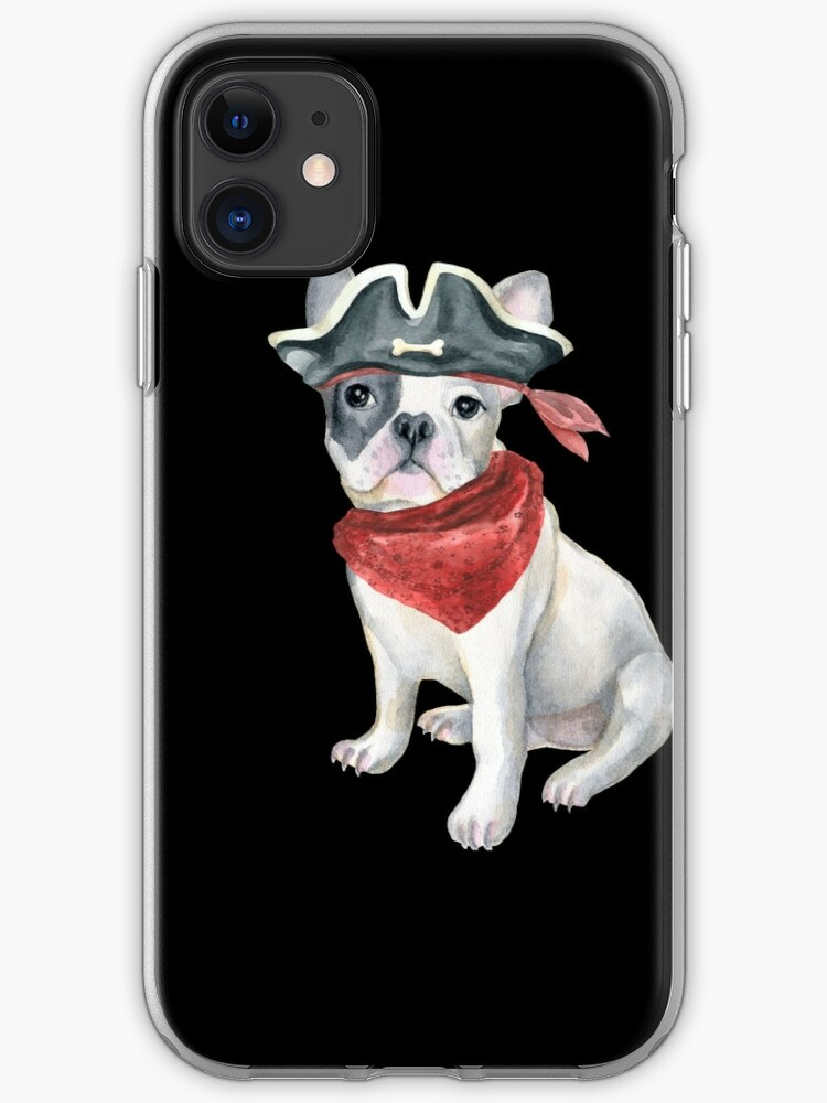 Dog Pirate iphone case