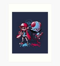 Inkling Trainer // Collaboration with Drew Wise Art Print