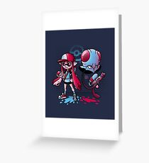 Inkling Trainer // Collaboration with Drew Wise Greeting Card