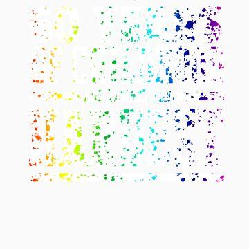 Rainbow Splat First 50 Years of Childhood Always the Hardest   Funny Birthday Gift Idea by orangepieces