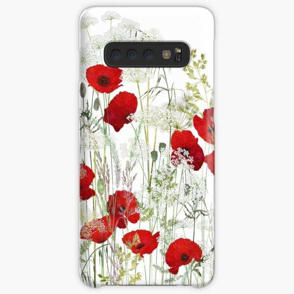 Poppy Field Samsung Galaxy Snap Case
