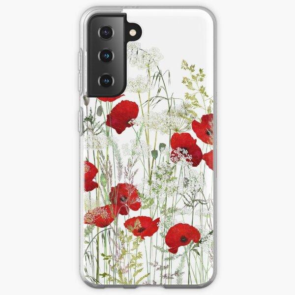 Poppy Field Samsung Galaxy Soft Case