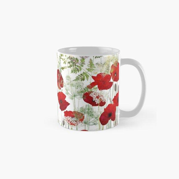 Poppy Field Classic Mug