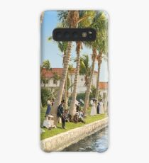 Watching the boat races, Palm Beach, Florida 1906 Case/Skin for Samsung Galaxy