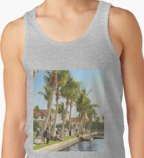 Watching the boat races, Palm Beach, Florida 1906 Tank Top