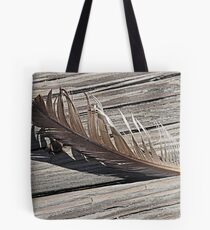 Fair Weather Feather  Tote Bag