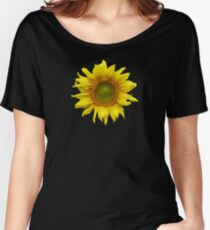 Sunny Sunflower Women's Relaxed Fit T-Shirt