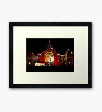 Royal Exhibition Building, Carlton Gardens-Melbourne Framed Print