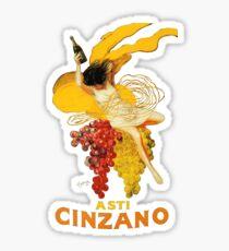 Weinlese Asti Cinzano Poster von Leonetto Cappiello Beverage Champagne Drink Artwork für Drucke Poster Tshirts Sticker