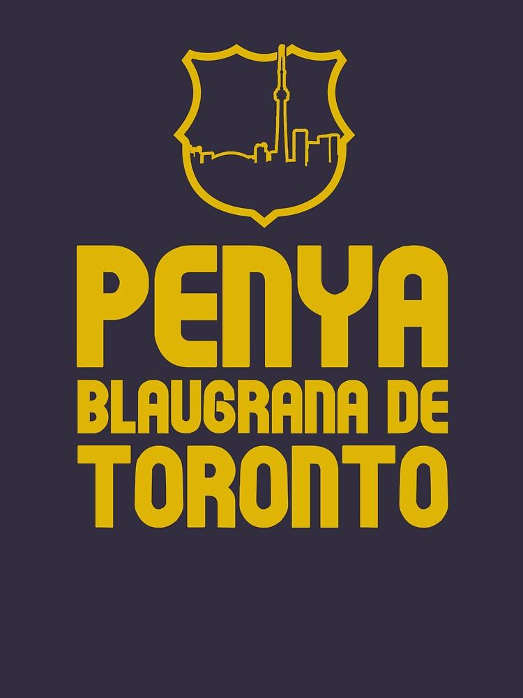 Penya Blaugrana de Toronto by soccerjoe