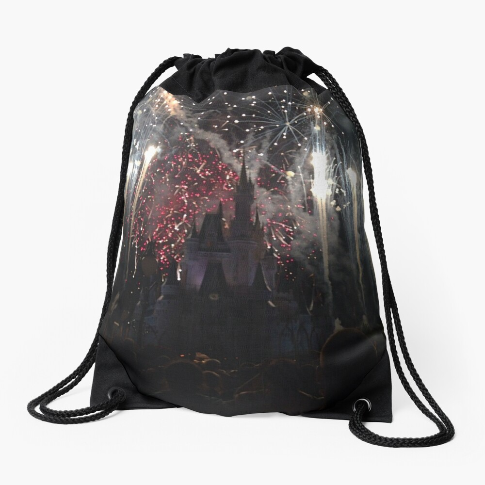 Wishes Drawstring Bag Front
