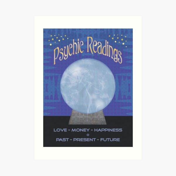 Psychic Readings Poster Art Print