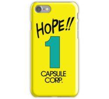 Hope! Time Capsule  iPhone Case/Skin