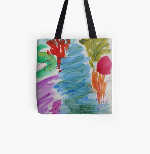 Sitting by the Stour All Over Print Tote Bag