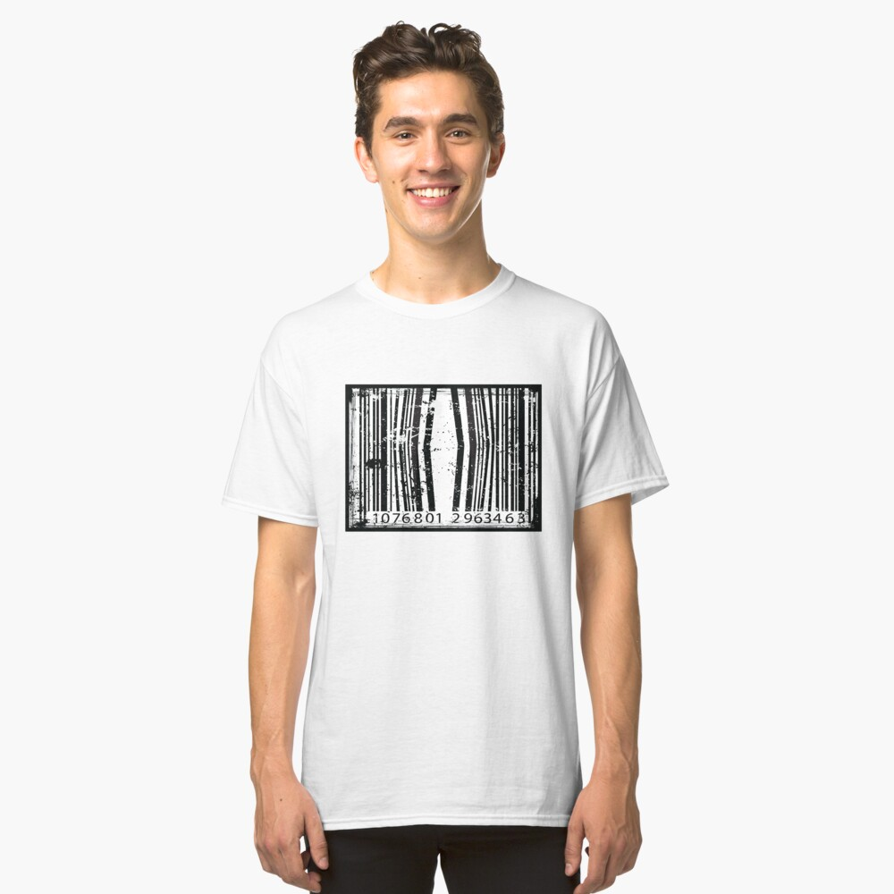 Freaky Logo - BarCode Classic T-Shirt Front