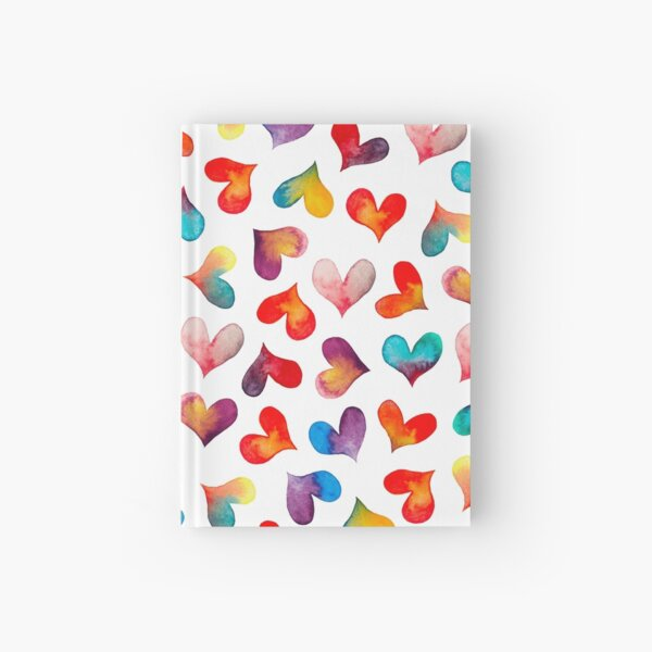Color of Hearts Hardcover Journal