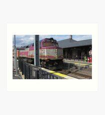 1050 MBTA Commuter Rail Art Print
