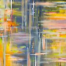 Spring Abstract Oilpainting by hurmerinta