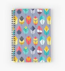 Fun Feathers Spiral Notebook