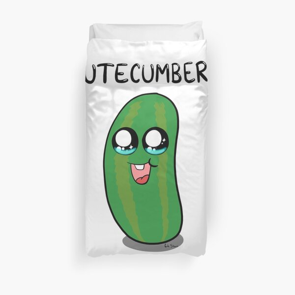 Cutecumber Duvet Cover