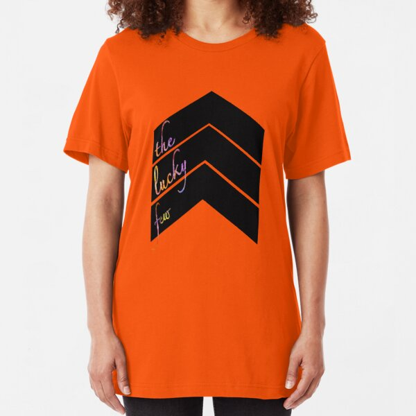 Down syndrome - the lucky few Slim Fit T-Shirt