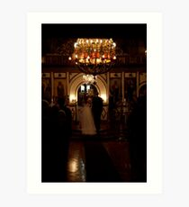 peoplescapes #201, the wedding Art Print