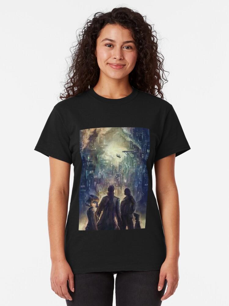 Alternate view of Dark district Classic T-Shirt