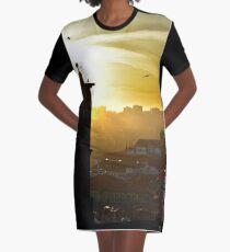 Porto in golden light Graphic T-Shirt Dress