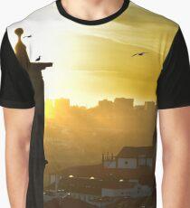 Porto in golden light Graphic T-Shirt