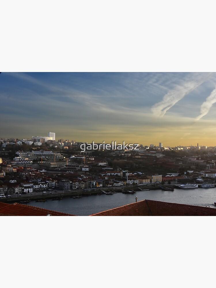 View over Vila Nova de Gaia by gabriellaksz