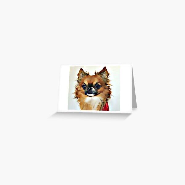 Mexican Chihuahua Greeting Card