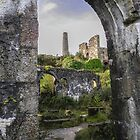 RUINS OF WHEAL BASSET MINE STAMPS AND VANNER HOUSE by Richard Brookes