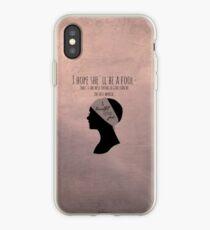 Beautiful Little Fool iPhone Case