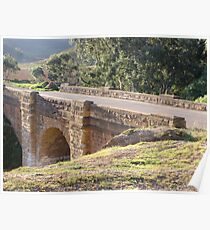 Djerriwarrh Sandstone Bridge at Anthony's Cutting Poster