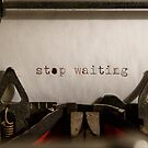 «Dejar de esperar» de Sean Sweeney