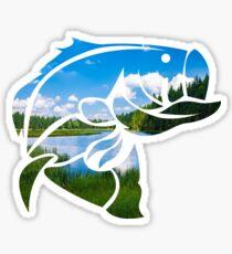 Lake Bass Sticker