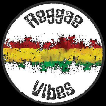 reggae vibes weiß  von Periartwork