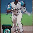 463 - Chuck Carr by Foob's Baseball Cards