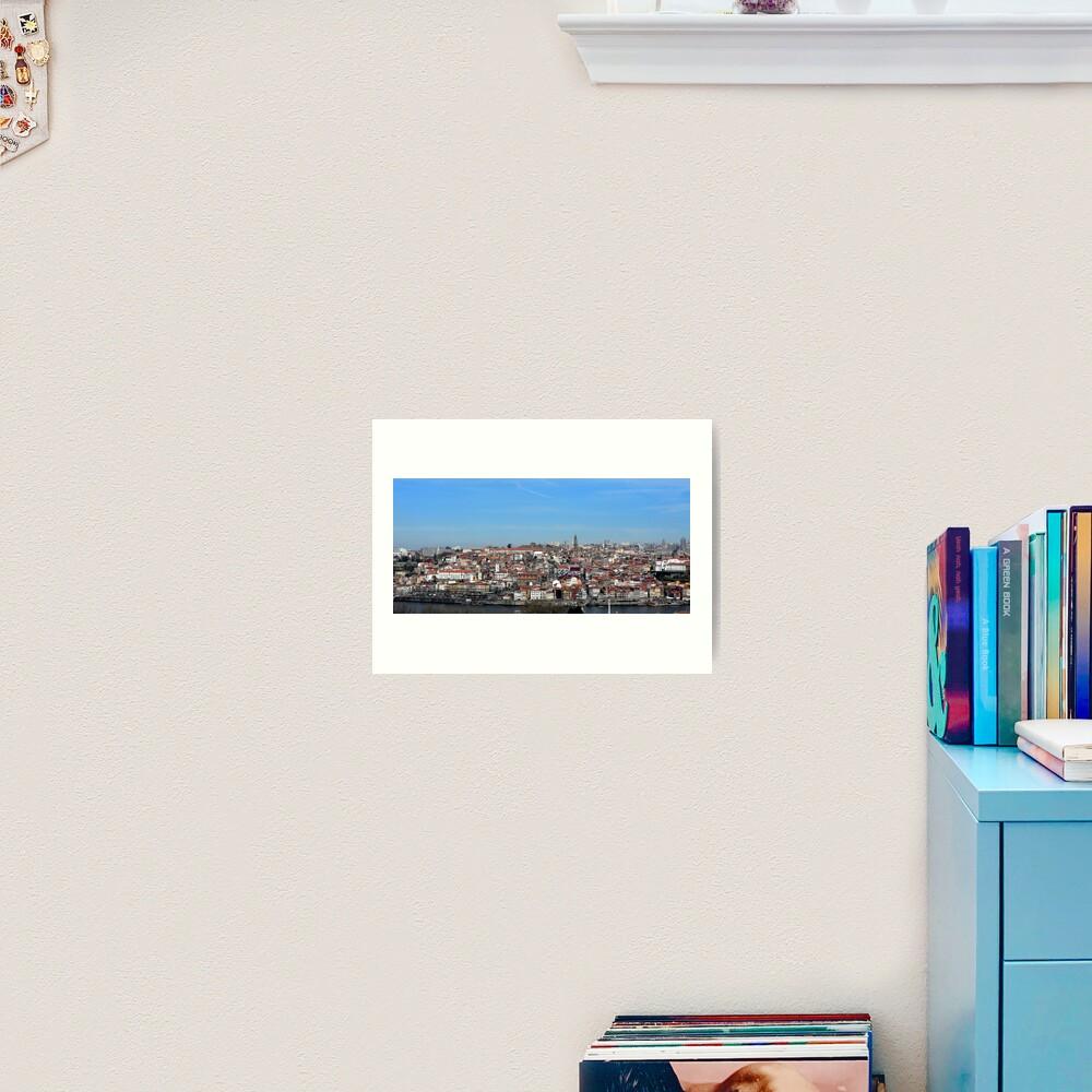 Porto views Art Print