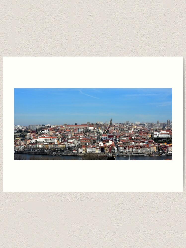 Alternate view of Porto views Art Print