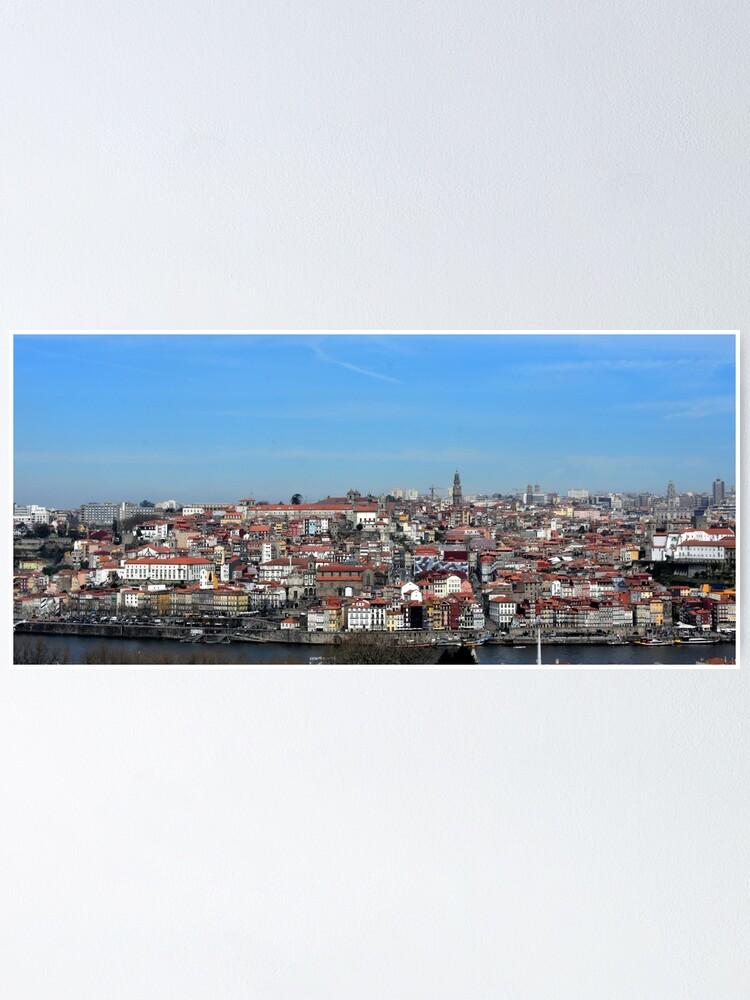 Alternate view of Porto's views Poster