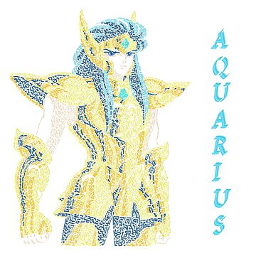 Saint Seiya - Knights of the Zodiac- Gold Saint - Aquarius by Karotene