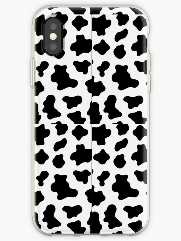 promo code e8790 27268 ' wildflower moo moo cow print phone case' iPhone Case by bashy29