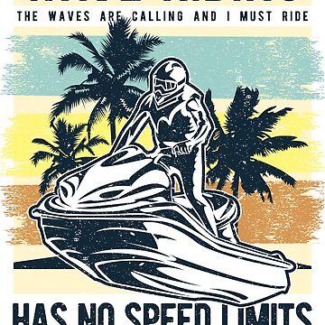Jet Ski Wave Riding PWC by offroadstyles