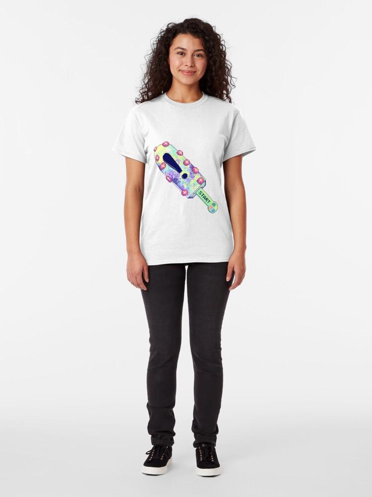 Alternate view of Pastel Vaporwave Popsicle Classic T-Shirt